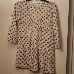 💙💚3/4 sleeve shirt